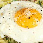 Spirelli Pasta Carbonara Courgette